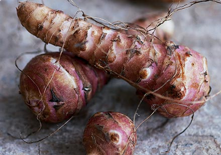 Jerusalem Artichokes - Appetite Suppressant Foods - How to Lose Weight Fast