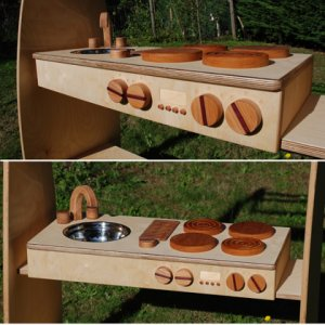 Wooden Camp Kitchen http://ecochildsplay.com/2008/11/06/made-in-canada-natural-pods-eco-friendly-fsc-certified-wooden-kitchen-furniture-encourages-dramatic-play/
