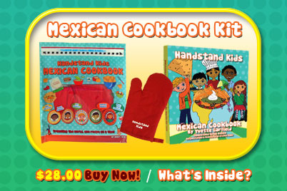 Teach your kids to cook ethnic food with their own cookbook