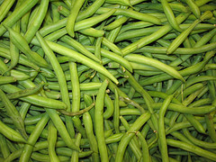 Make those green beans organic!