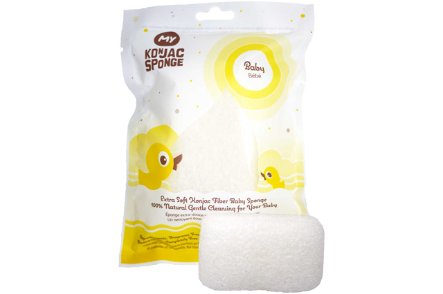 Eco Baby All Natural Konjac Fiber Baby Sponge