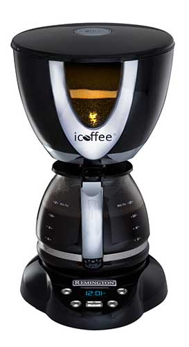 iCoffee: First ever steam brewed coffee maker