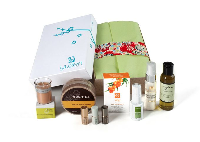 Yuzen monthly subscription or gift boxes